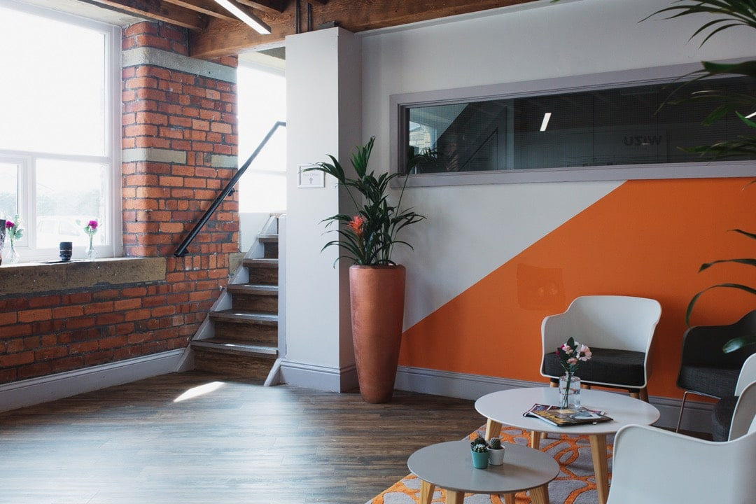 beck mill reception area