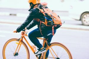Urban cyclist