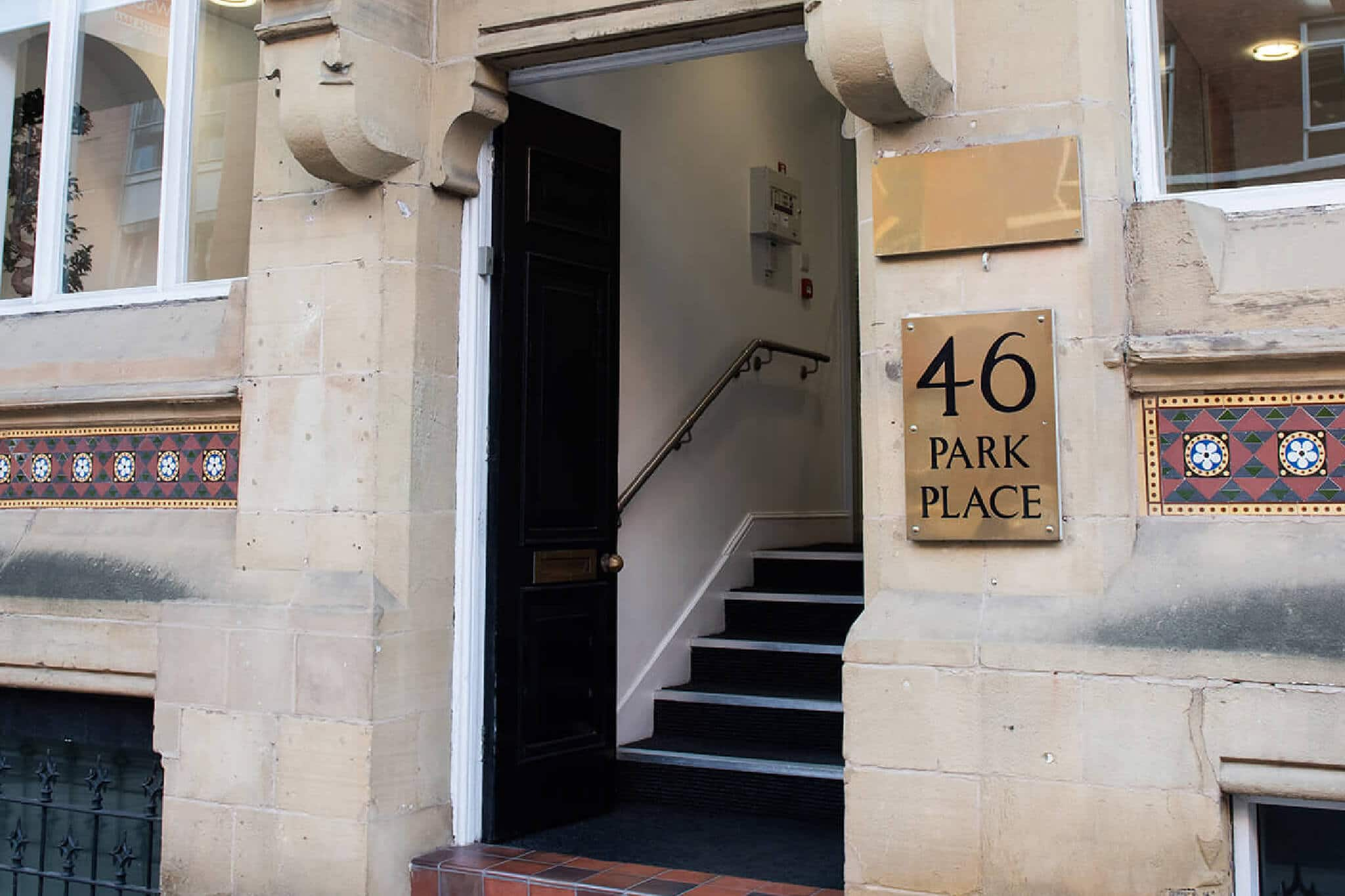 park place outside foyer